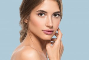 Woman,Beautiful,Face,Healthy,Skin,Care,Natural,Beauty,Young,Model